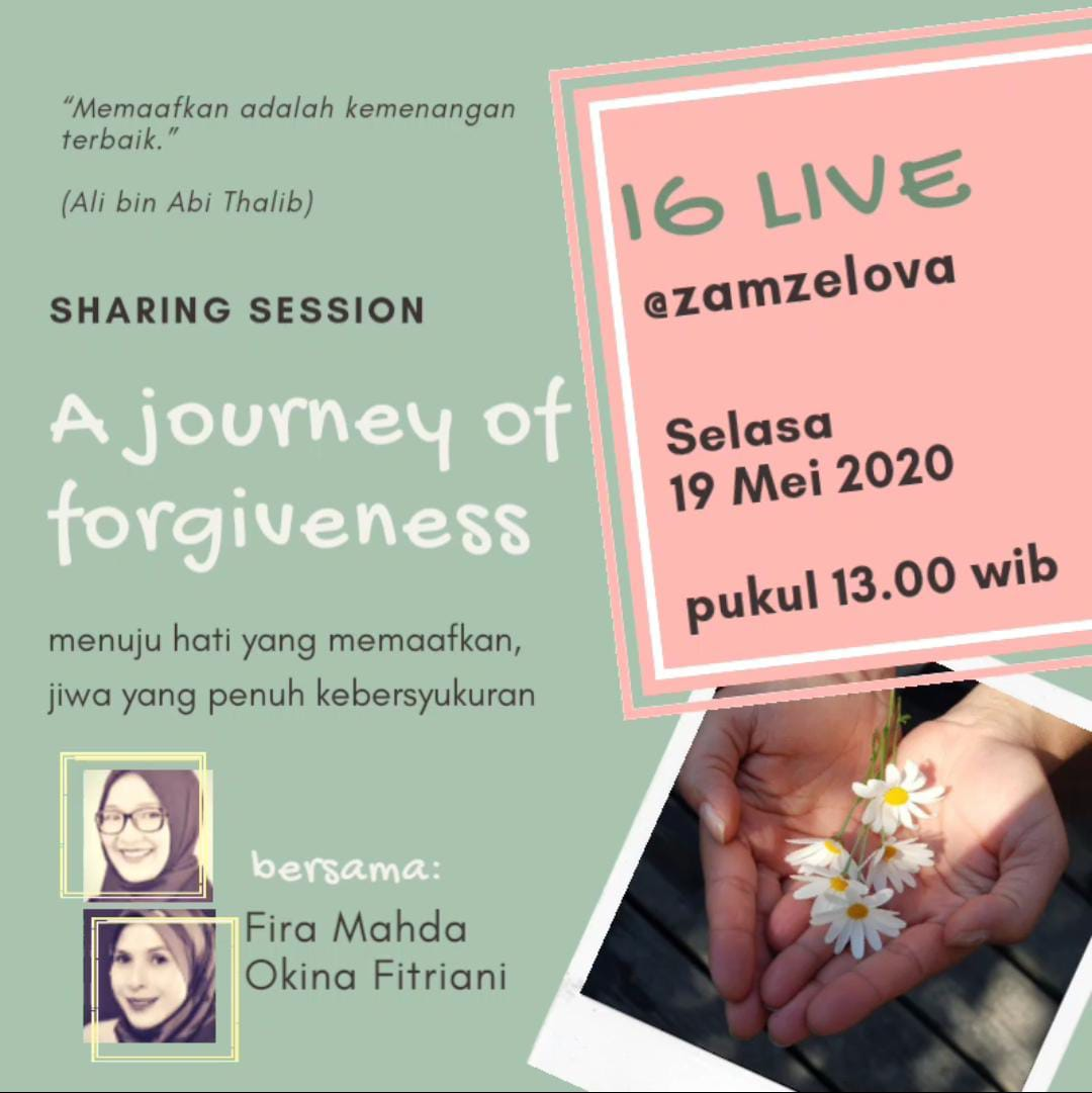The Journey of Forgiveness – Fira Mahda